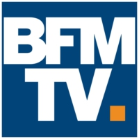 Logo of radio station BFM TV (audio)
