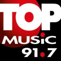Logo of radio station XHKH Top Music 91.7 FM