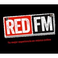 Logo of radio station RED FM