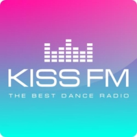 Logo of radio station Kiss FM Ukraine