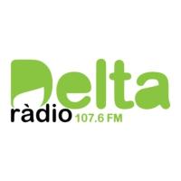 Logo of radio station Ràdio Delta 107.6 FM