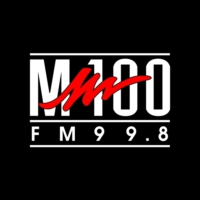 Logo of radio station M100