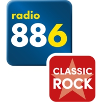 Logo of radio station 88.6 Classic Rock
