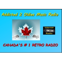 Logo of radio station ADDICTED TO OLDIES MUSIC RADIO