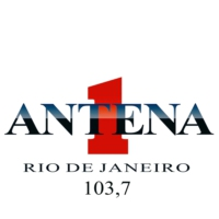 Logo de la radio Antena 1 - Rio de Janeiro