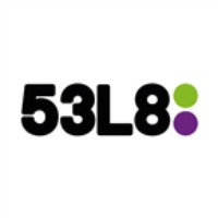 Logo of radio station 53L8