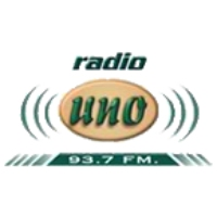 Logo of radio station Radio Uno 93.7