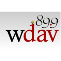 Logo of radio station WDAV 89.9 FM
