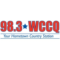 Logo of radio station 98.3 WCCQ