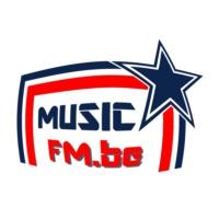 Logo of radio station MUSIC FM.BE
