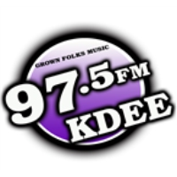Logo of radio station KDEE-LP 97.5