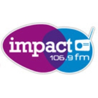 Logo of radio station Impact FM 106.9