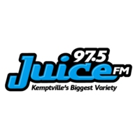 Logo of radio station 97.5 Juice FM