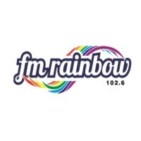 Logo of radio station FM Rainbow