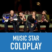 Logo de la radio Music Star ColdPlay
