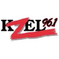 Logo of radio station KZEL 96.1