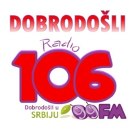 Logo of radio station Radio 106