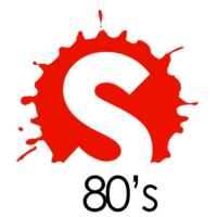 Logo of radio station 1 HITS 80s
