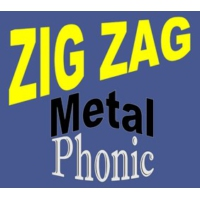 Logo of radio station Zig Zag Metal Phonic