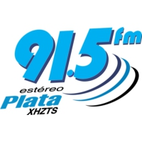 Logo of radio station XHZTS Estéreo Plata 91.5 FM