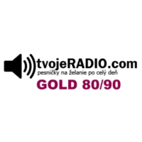 Logo of radio station tvojeRADIO.com Gold 80/90