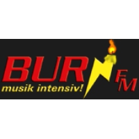 Logo of radio station Burn FM