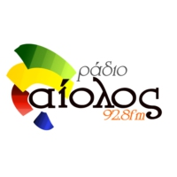 Logo of radio station Αίολος 92,8