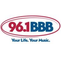 Logo of radio station WBBB 96.1 BBB