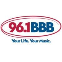 Logo of radio station WBBB 96.1 BBB