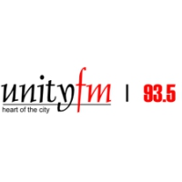 Logo of radio station Unity FM 93.5fm