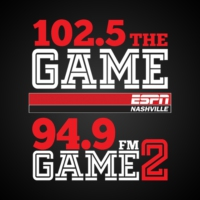Logo of radio station WPRT 102.5 The Game