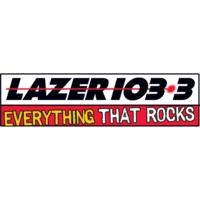 Logo of radio station KAZR LAZER 103.3