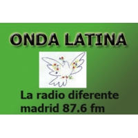 Logo of radio station Onda Latina 87.6 FM