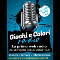 Logo of radio station Radio Giochiecolori