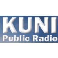 Logo of radio station KUNI NPR 91 FM