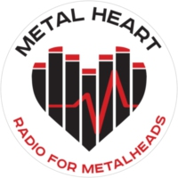 Logo of radio station Metal Heart Radio