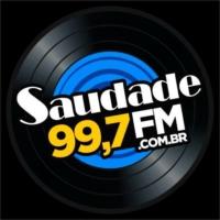 Logo of radio station Saudade FM