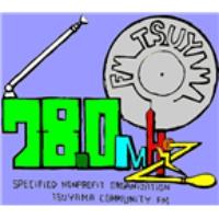 Logo of radio station FM Tsuyama 78.0