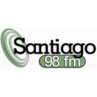 Logo of radio station Rádio Santiago