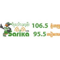 Logo of radio station Sarika FM 106.5