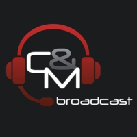 Logo of radio station C&M Broadcast