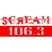 Logo de la radio Scream 106,3