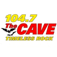 Logo of radio station KKLH The Cave 104.7