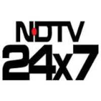 Logo of radio station NDTV 24X7