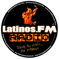 Logo of radio station Latinos FM