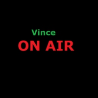 Logo of radio station VINCE ON AIR