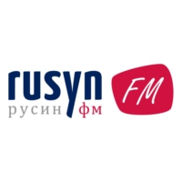 Logo of radio station Rusyn FM