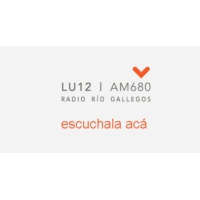 Logo of radio station LU12 Radio Rio Gallegos AM680