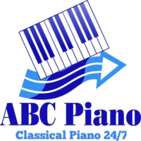 Logo of radio station ABC Piano Radio