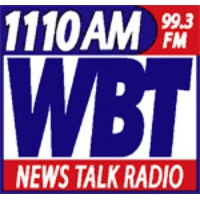 Logo of radio station WBT AM (NewsTalk 1110)